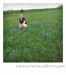 me in the bluebonnets of Washington County, Texas